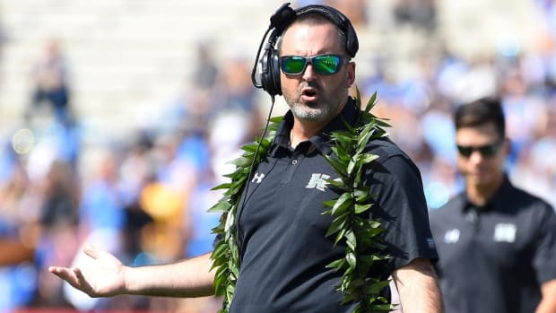 Hawaii Coach Nick Rolovich Calls Out Oregon State for Recruiting His Players by Mail
