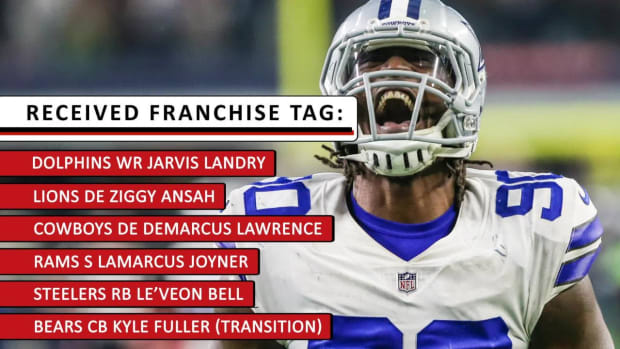NFL Franchise Tag: Le'Veon Bell, Demarcus Lawrence Lead Group of Tagged Players - IMAGE