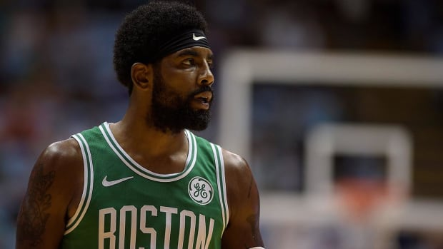 Kyrie Irving to Celtics Fans: 'I Plan on Re-Signing Here'--IMAGE
