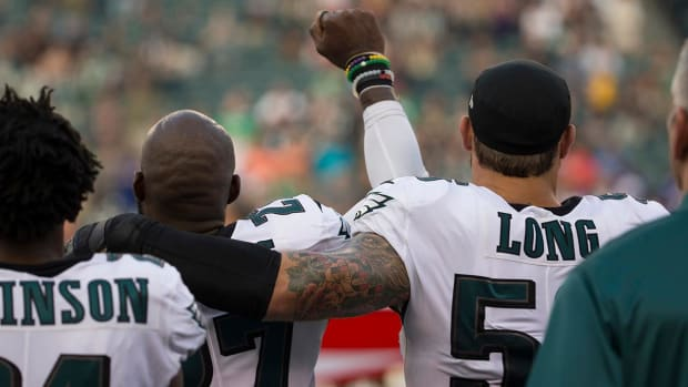 Eagles Malcolm Jenkins, Chris Long and Torrey Smith Will Skip White House Visit - IMAGE