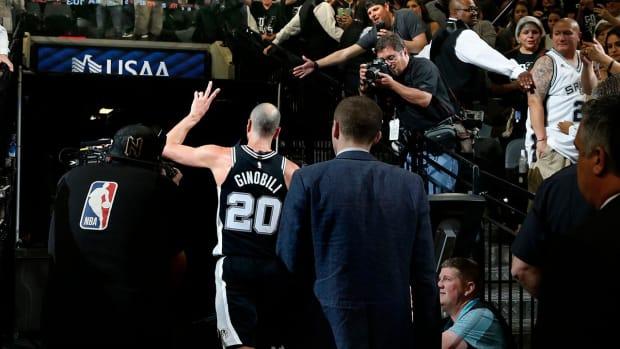Spurs' Manu Ginobili Announces Retirement At Age 41