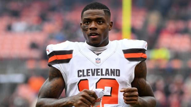Josh Gordon Returns To Browns Following Leave of Absence--IMAGE