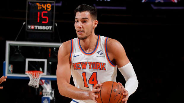 Report: Knicks Trading Willy Hernangomez to Hornets - IMAGE