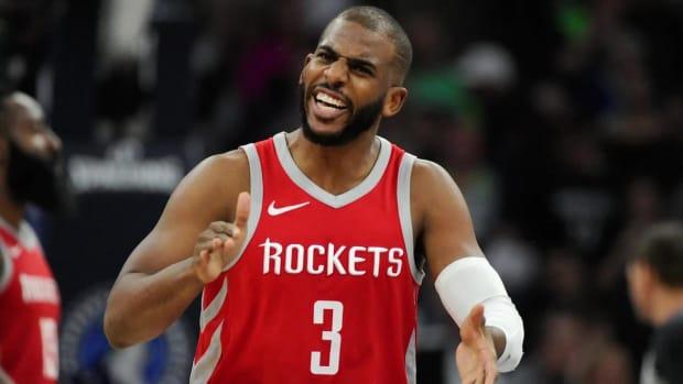 Rockets Score 50 In Third Quarter Against Minnesota, Take 3-1 Series Lead--IMAGE