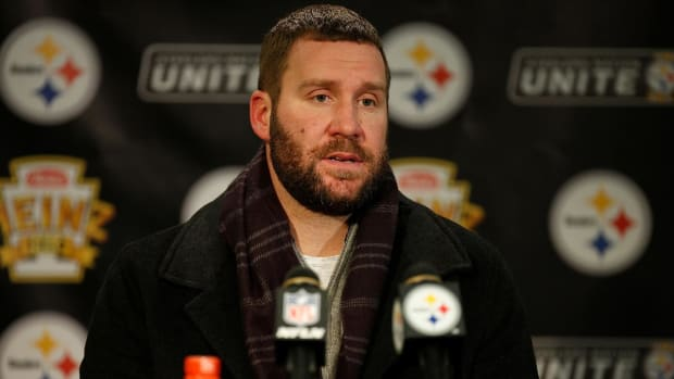Ben Roethlisberger Surprised Steelers Drafted Mason Rudolph in Third Round--IMAGE