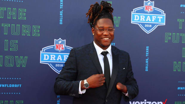 Griffin Twins Reunited As Seahawks Select Shaquem on Saturday--IMAGE
