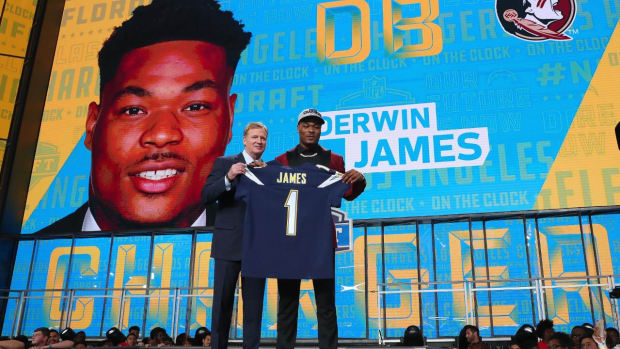 Report: Chargers Rookie Derwin James Robbed at Gunpoint Last Month - IMAGE