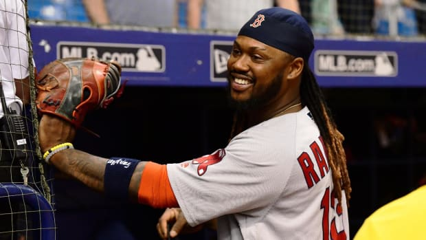 Red Sox Designate Hanley Ramirez For Assignment--IMAGE