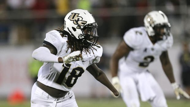 Shaquem Griffin Putting On a Show At The NFL Combine--IMAGE