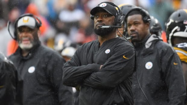 Mike Tomlin: Antonio Brown Was Disciplined For No-Show on Monday--IMAGE
