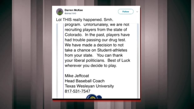 Texas Wesleyan Baseball Coach Fired After Emailing Recruit