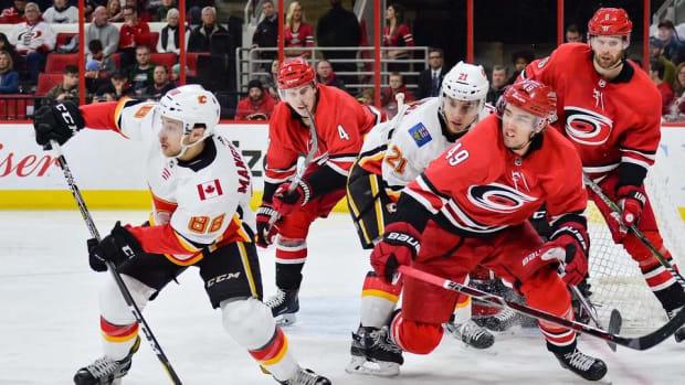 Flames Send Hamilton, Ferland to Hurricanes For Lindholm, Hanifin--IMAGE