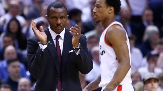 Raptors' Dwane Casey Voted Coach of the Year by Coaches Association--IMAGE