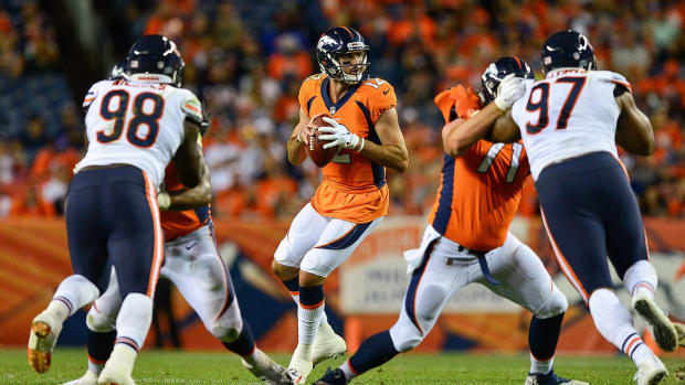 Report: Broncos Cut Former First-Round Pick Paxton Lynch - IMAGE
