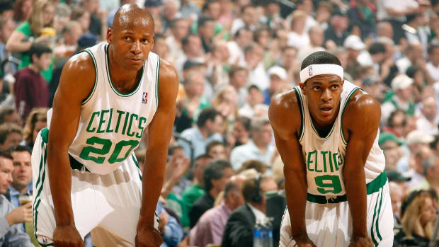 "Rajon Rondo on Ray Allen: ""He Just Wants Attention""--IMAGE"