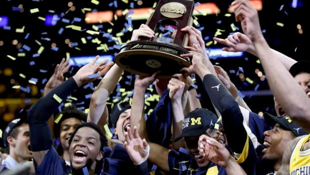 No. 3 Michigan Defeats No. 9 Florida State, Wolverines Head to The Final Four--IMAGE