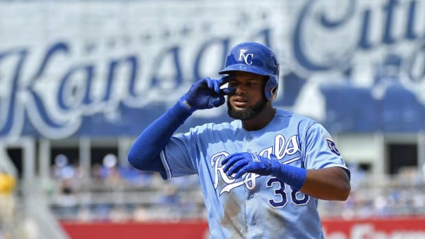 Royals OF Jorge Bonifacio Suspended 80 games for PEDs--IMAGE