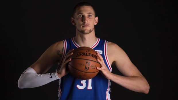 Mike Muscala, 76ers Denounce Father's Offensive Tweets - IMAGE