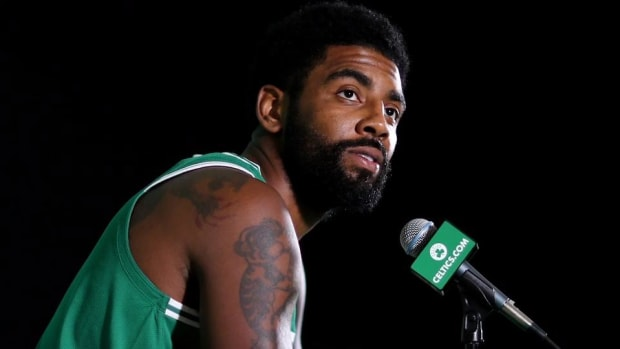 Kyrie Irving on Boston: 'Pretty F---- Good Here'--IMAGE
