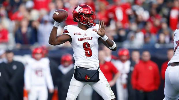 Lamar Jackson Declares for NFL Draft - IMAGE