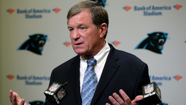 Panthers Interim GM Marty Hurney Placed On Leave After Harassment Complaint - IMAGE