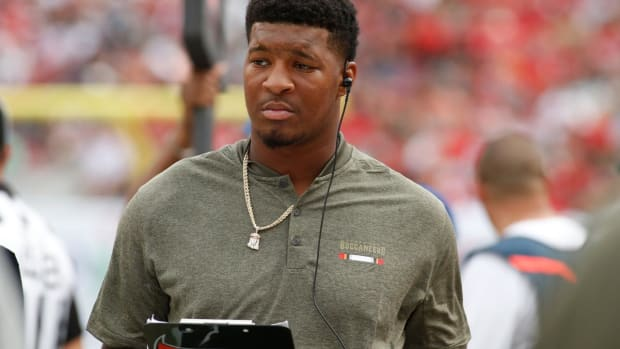 Buccaneers' Jameis Winston Given Three-Game Suspension for Groping Uber Driver