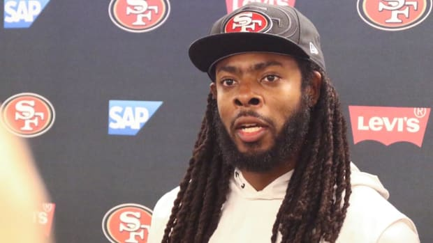 Richard Sherman Speaks Out About Cowboys Owner Jerry Jones--IMAGE
