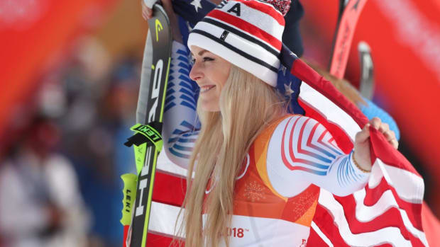 Lindsey Vonn Wins Bronze in Downhill - IMAGE