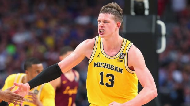 Michigan Rallies Past Loyola-Chicago, Wolverines To Play For National Championship--IMAGE
