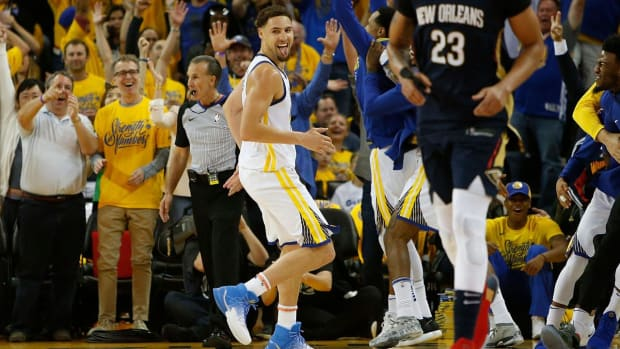 Report: Klay Thompson, Warriors Talking Contract Extension--IMAGE