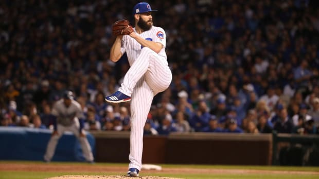 Report: Jake Arrieta, Phillies Agree To Three-Year Contract--IMAGE