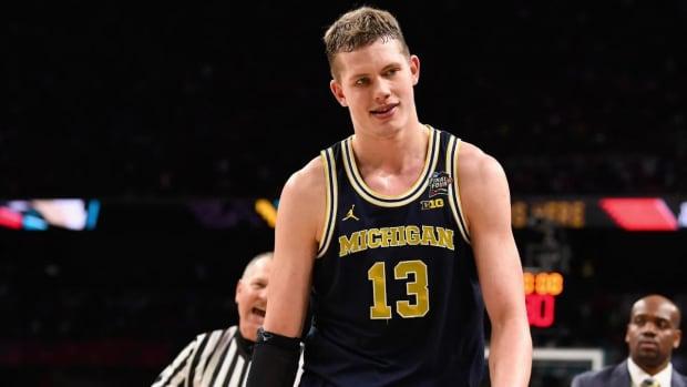 Michigan Forward Moritz Wagner Declares For 2018 NBA Draft--IMAGE
