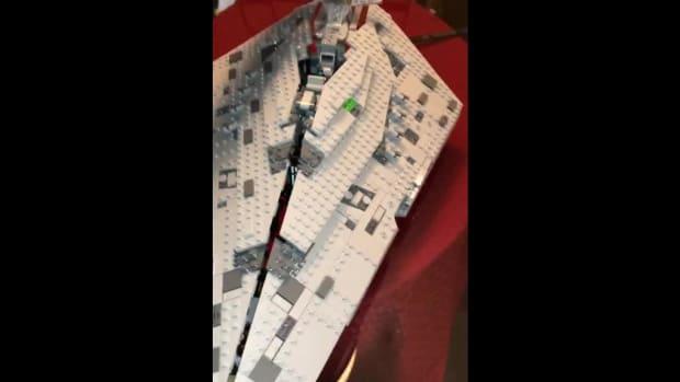 Myles Turner: Finished Product of Star Wars LEGO Set - IMAGE