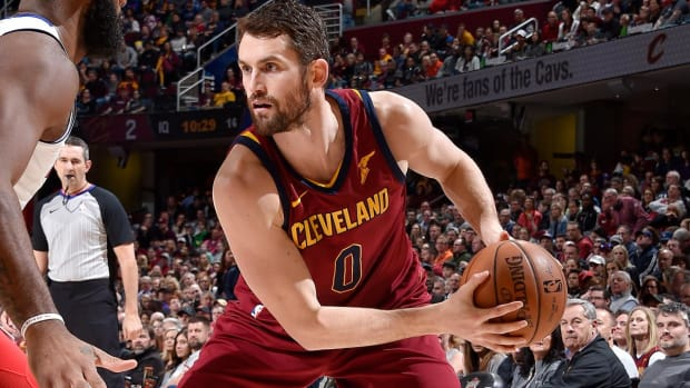 Report: Kevin Love Likely Out Six to Eight Weeks With Fractured Finger - IMAGE
