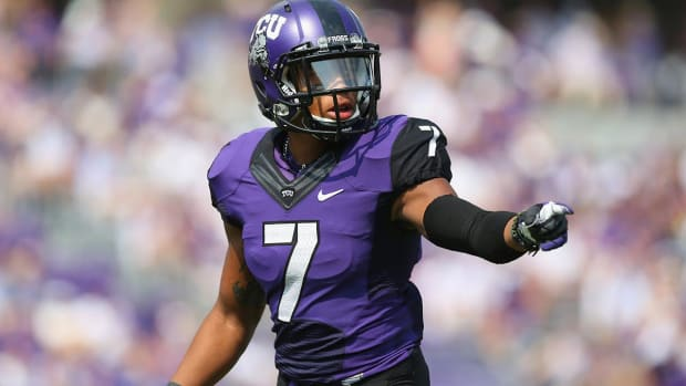 Former TCU WR Kolby Listenbee Sues University and the Big 12 Alleging Abuse and Harassment - IMAGE