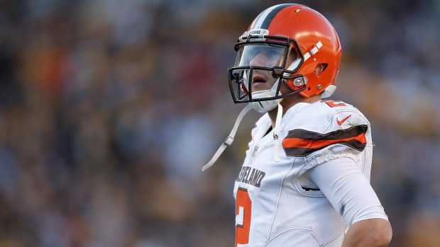Johnny Manziel To Play in Spring League - IMAGE