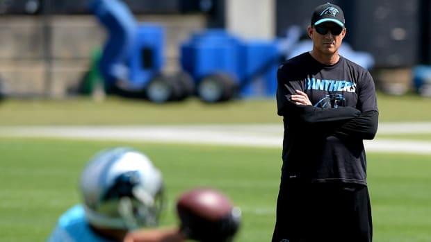 Panthers Fire Offensive Coordinator Mike Shula, Quarterbacks Coach Ken Dorsey - IMAGE