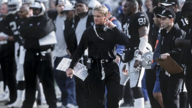 Report: Raiders Giving Jon Gruden Contract Worth Around $100 Million Over 10 Years - IMAGE