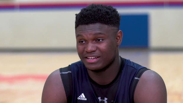 High School Hoops Star Zion Williamson Will Play For Duke--IMAGE
