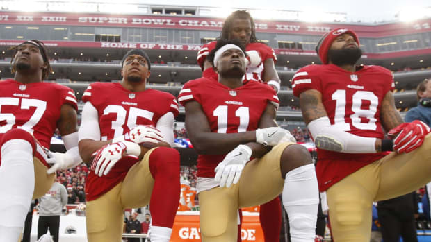 Eric Reid Believes He Is Still A Free Agent Due to National Anthem Protests - IMAGE