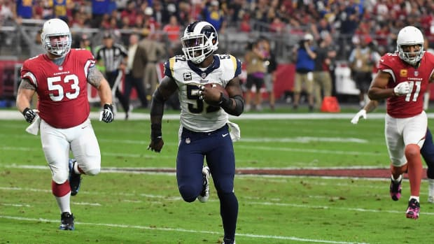 Report: New York Giants Acquire LB Alec Ogletree From Rams For a Pair Of Draft Picks--IMAGE