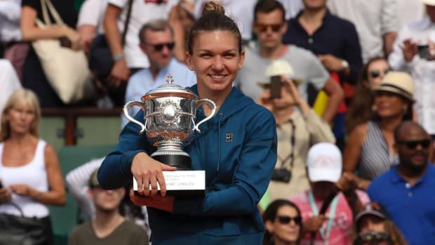 Simona Halep Wins 2018 French Open, Captures Her First Grand Slam Title--IMAGE