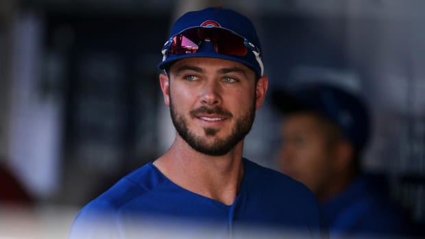 Cubs' Kris Bryant Lands On DL With Shoulder Inflammation--IMAGE