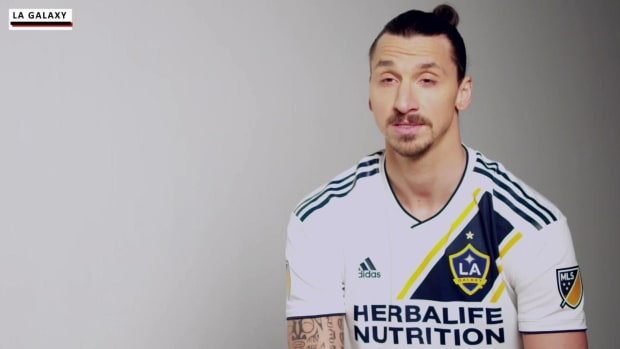 Zlatan Ibrahimovic Sets Out on His LA Galaxy Experience - IMAGE