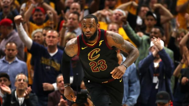 LeBron James Scores 44, Cavaliers Even Series With Celtics--IMAGE