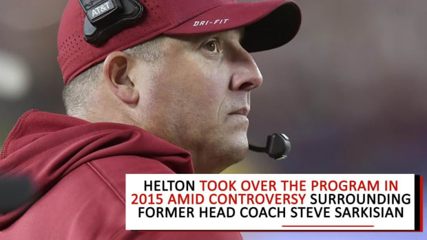 USC Inks Coach Clay Helton to Extension Through 2023 - IMAGE