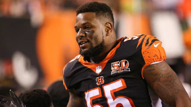 Report: Bengals LB Vontaze Burfict Facing Four-Game PED Suspension--IMAGE
