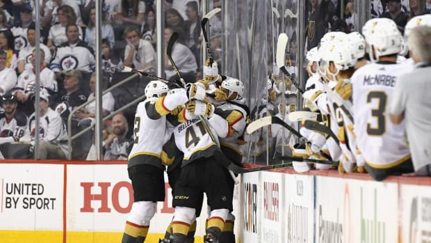 Vegas Golden Knights Advance To Stanley Cup Final In Inaugural Season--IMAGE