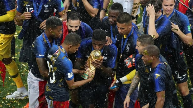 France Celebrates Second World Cup Victory After 4-2 Win Over Croatia  - IMAGE
