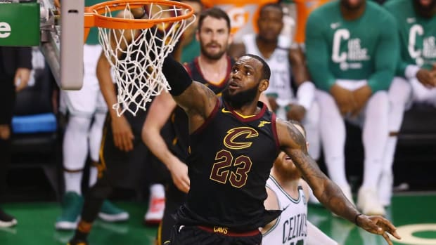 LeBron James Named To Record 12th All-NBA First Team - IMAGE